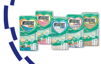 CAREFRESH®  Flocons de cellulose